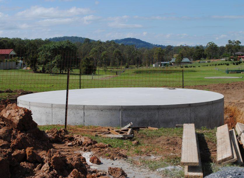 60,000 Litre Concrete Water Tank