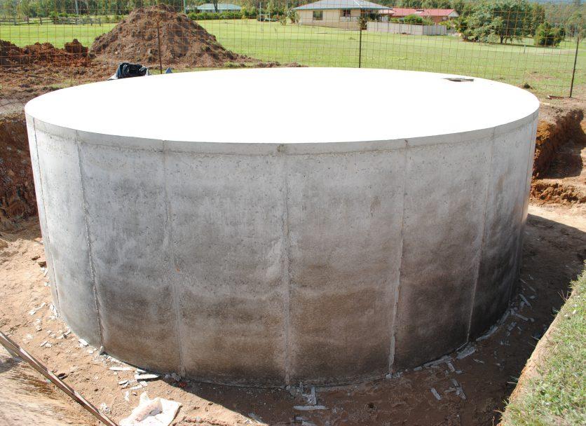 45,000 Litre Concrete Water Tank