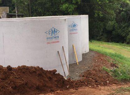 10,000 Litre Concrete Water Tank